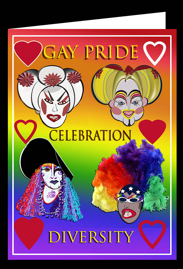 Gay Pride Diversity Card