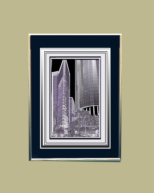 101 California Street Framed