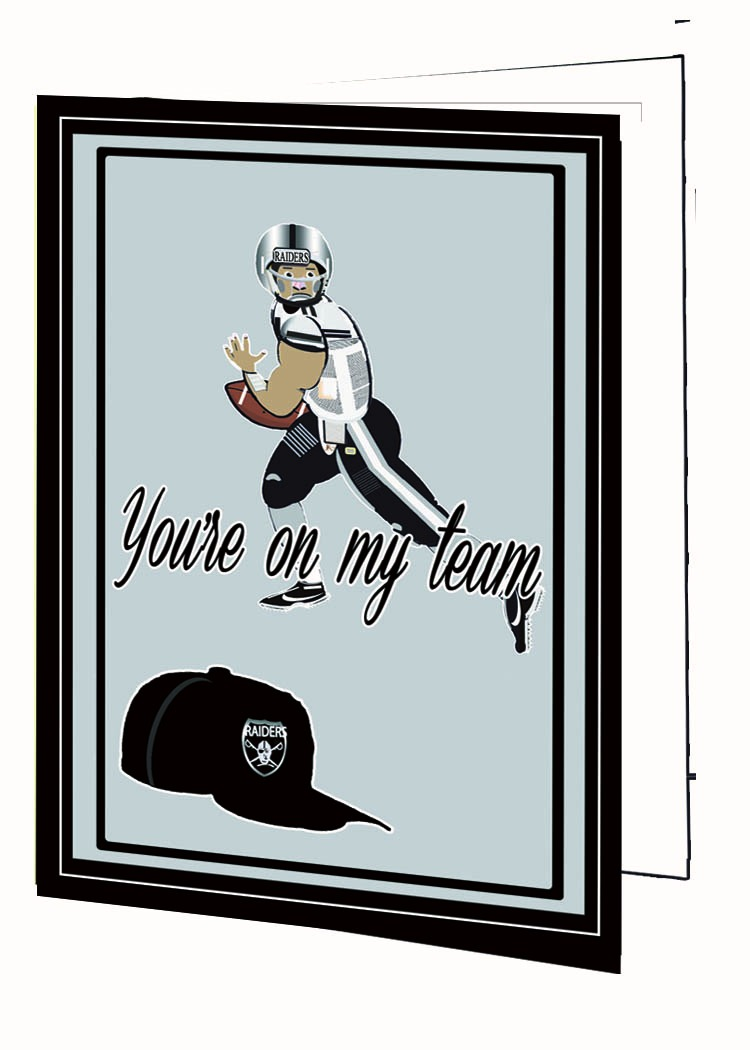 You're On My Team-Raiders