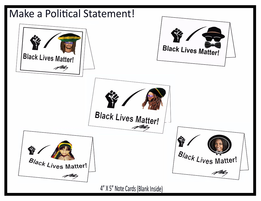Black Lives Matter Note Cards