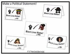 Black Lives Matter Note Cards