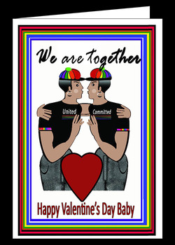 We Are Together Happy V Day Baby