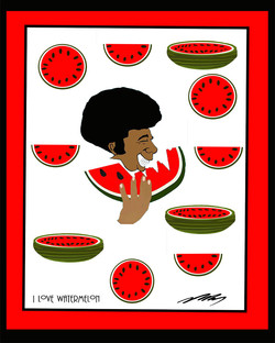 Loving Watermelon