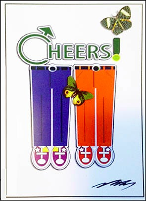Same Sex Cheer Card