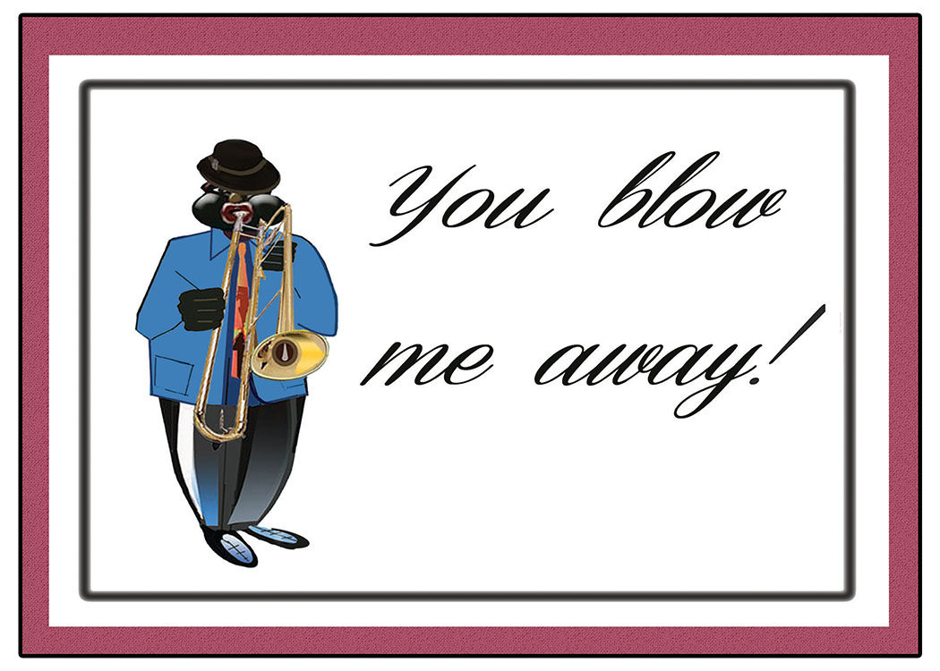 You Blow Me Away -horizontal version
