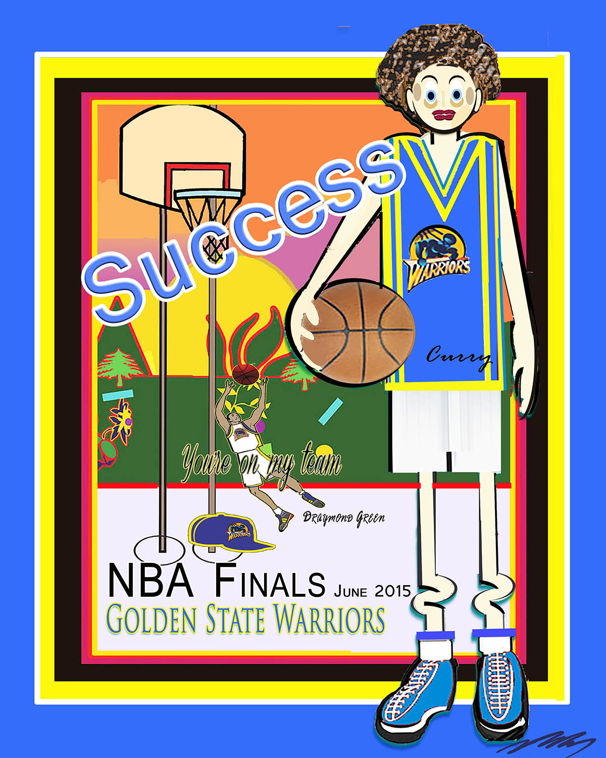 GS WRRIOR -Stephen Curry