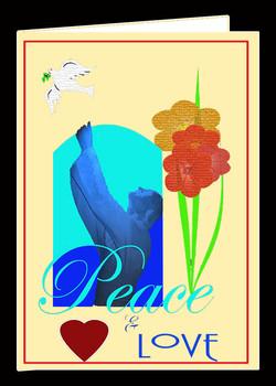 Peace & Love Card