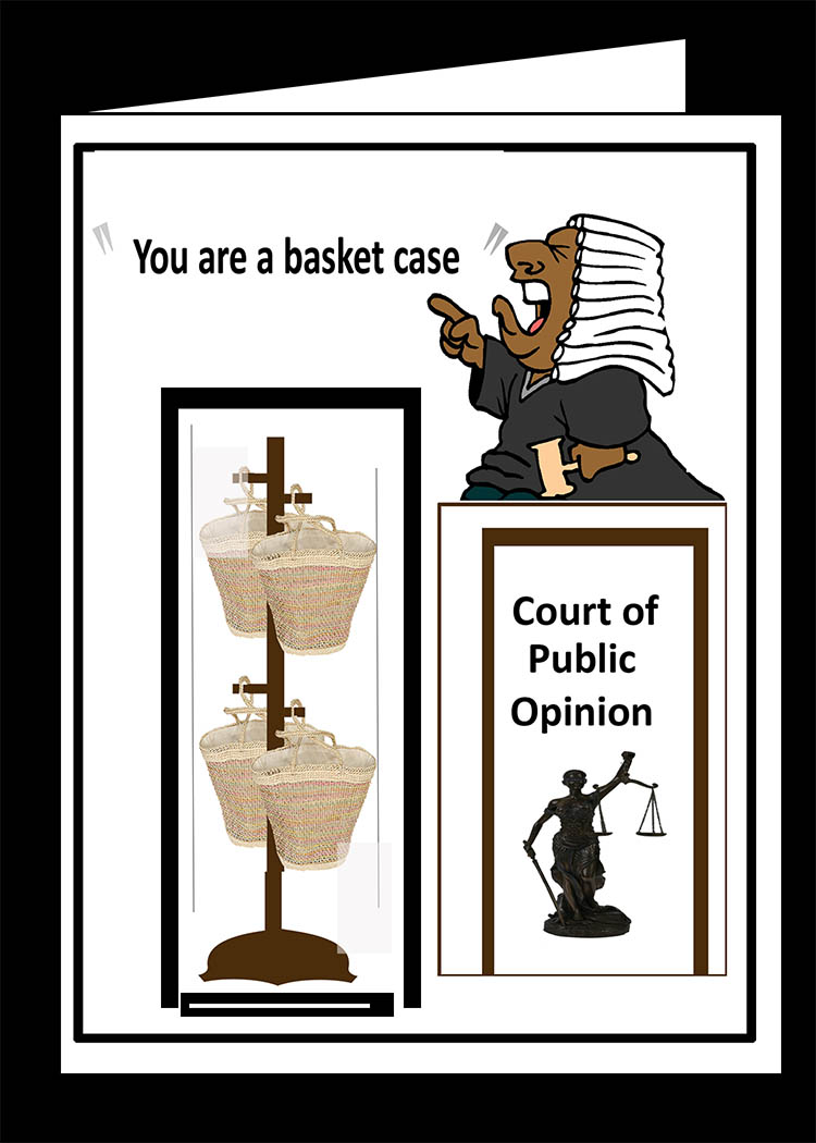 A Basket Case-Expression Card