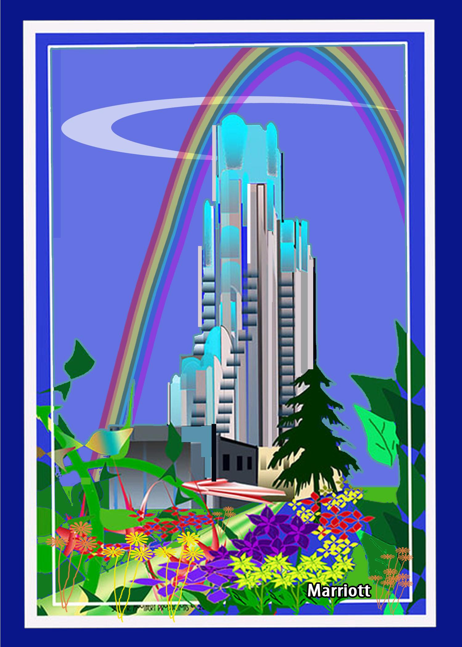 Marriott Hotel w Rainbow