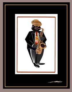 Razzy Saxophone Player-Tootleloo
