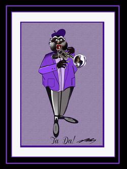 Jazzy Trumpet Player-Ta Da!