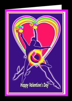Happy VD Winged Angels