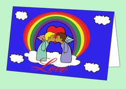 Love Angels Card