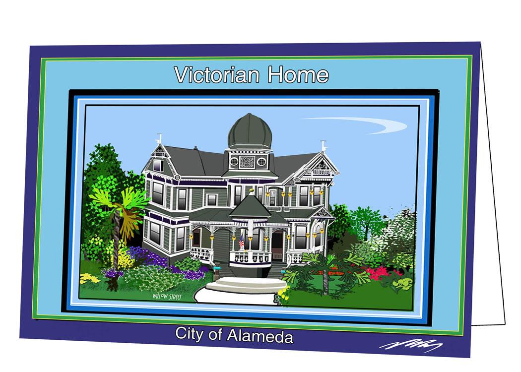 alameda Victorian (Willow Street)