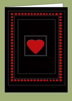 Happy Valentine Black B