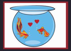 Love Fish-Sentiment Card