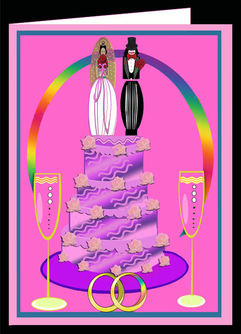 Female Unity  Card-Pink