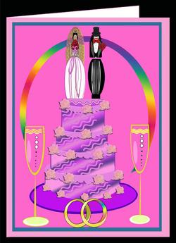 Female Unity  Card-Pink