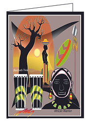 Greeting Cards and African Art