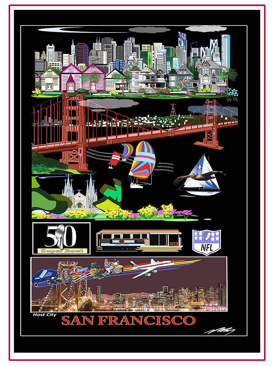 San Francisco Hosted Super Bowl 50