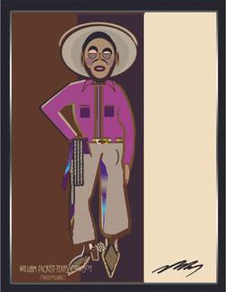 William (Bill) Pickettt-Purple Shirt