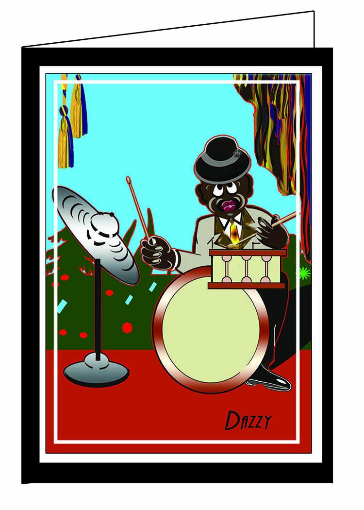 The Drummer-Dazzy