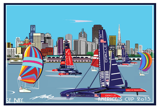 America's Cup 2013 -Oracle USA