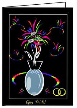 Gay Pride Celebration Card