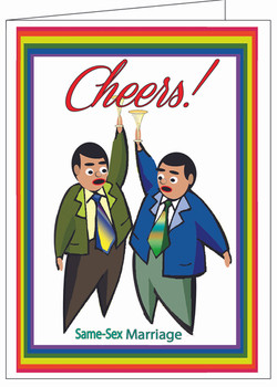 Cheers-Marriage Card.
