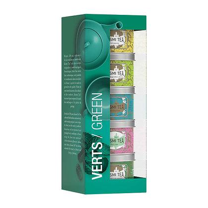 Geschenkset Kusmi Verts