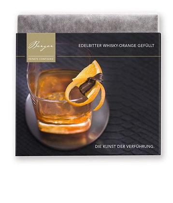 Berger Edelbitter Whiskey-Orange gefüllt