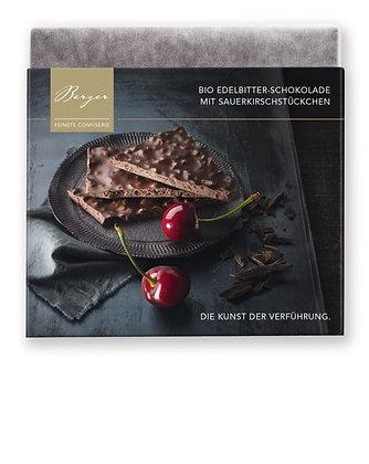 Berger Bio Edelbitter mit Sauerkirschstückchen 90 g