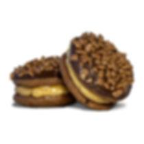 Mocca cookies griechisches Gebäck