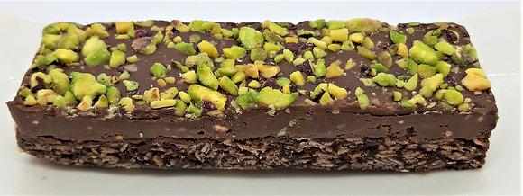 Pistazie- Zartbitterschokolade Riegel