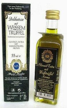 Olivenöl mit weissem Trüffel- Aroma 55ml