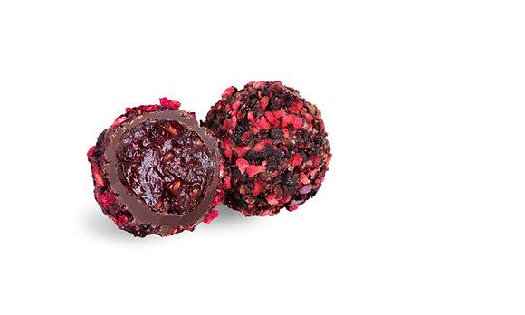 Balsamico Trüffel, Haselnuss Trüffel, Pralinen Lettland, Nelleulla, Feige Trüffel, Pistazie Trüffel, Erdbeer Trüffel