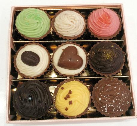 """Geschenk  Nr. 5 """"9 Cupcakes"""""""