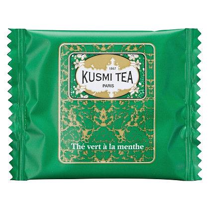 Kusmi Tea Paris, Grüner Tee MINZE BIO, 1 Teebeutel