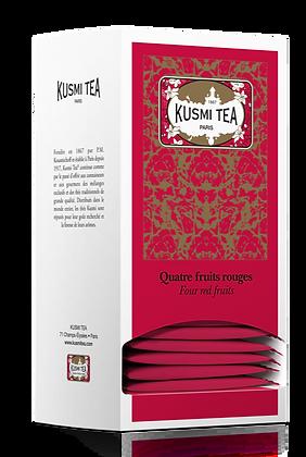 Kusmi Tea Paris, Rote Früchte, 25 Teebeutel