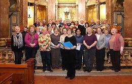 Maria Hall and the Guild Choir, Str Wilfrid's Preston 2012