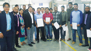r-pac Bangladesh celebrate 100% ImpressionProof Printer status