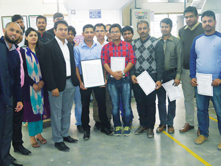 r-pac Bangladesh celebrate 100% ImpressionProof Printer status
