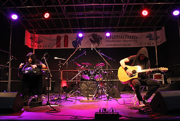 Remain a Mystery | About | Music | Music | Duo | Live | Handpan and Guitar | Handpan und Gitarre