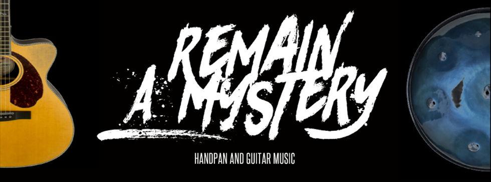 Remain a Mystery | Contact | Kontakt | Header | Music | Music | Duo | Live | Handpan and Guitar | Handpan und Gitarre