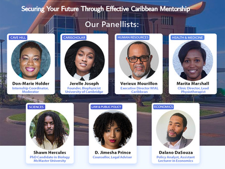 UWI x CariScholar:  Mentorship Webinar
