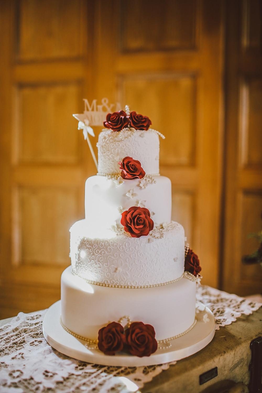 torta de bodas shabby chic