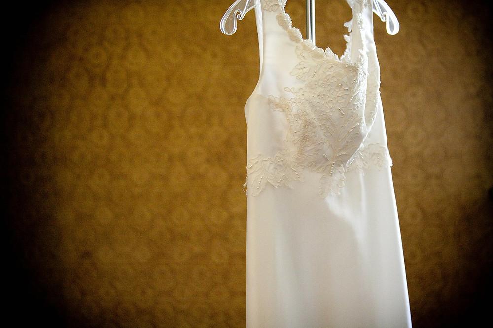 vestido de novia usado por alguien conocido