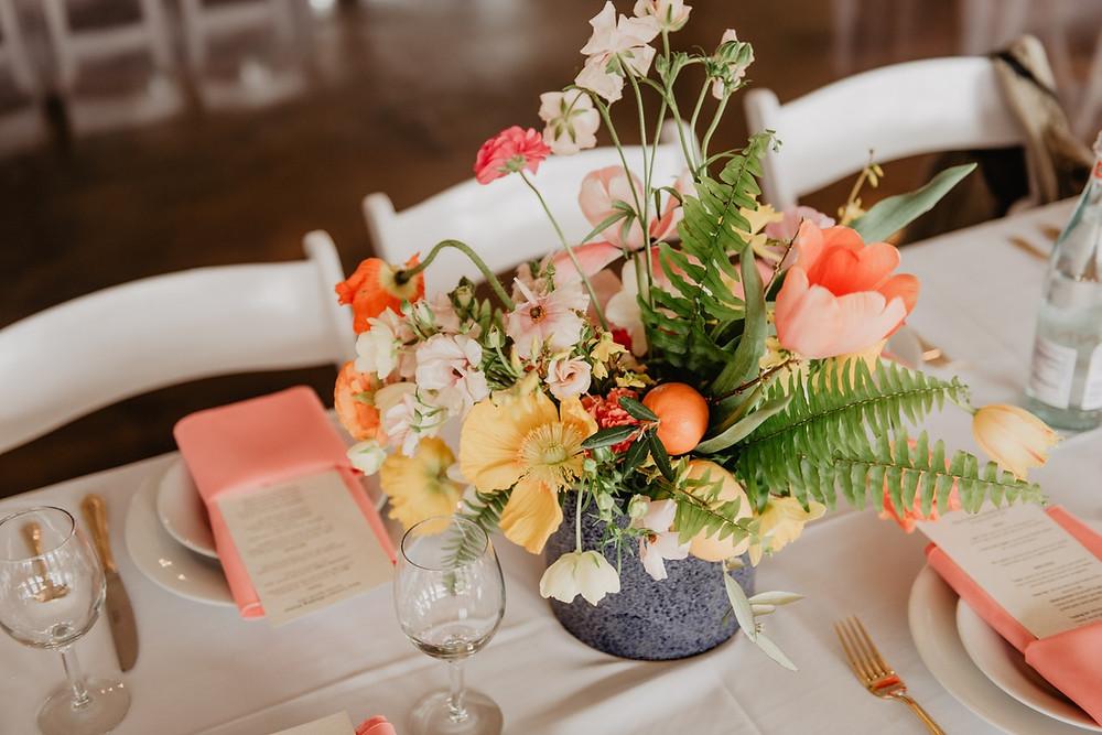 elección del menú de bodas; menú formal