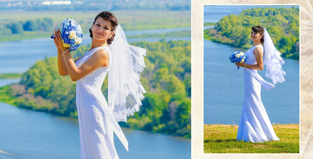 vestido de novia tipo columna o tubo