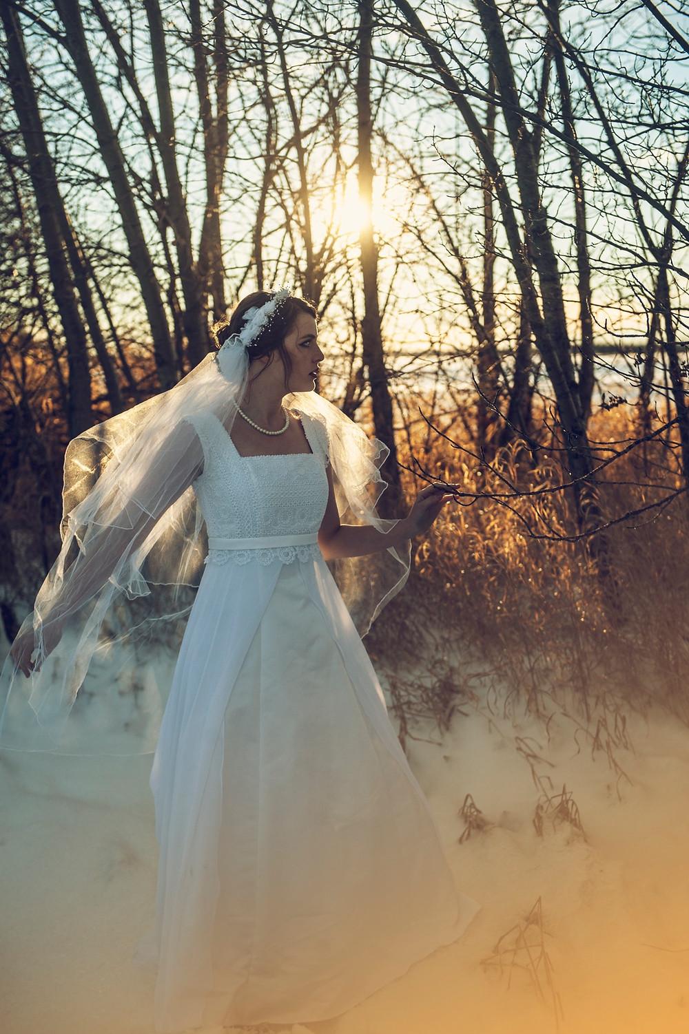 vestido de novia estilo imperio